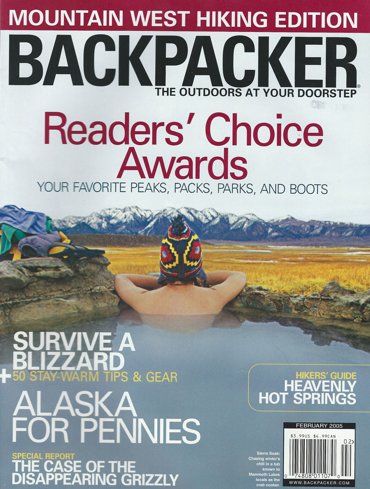 The Grizzly Detective, Backpacker, February 2005